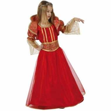 Rode koningin carnavalskleding voor meisjes
