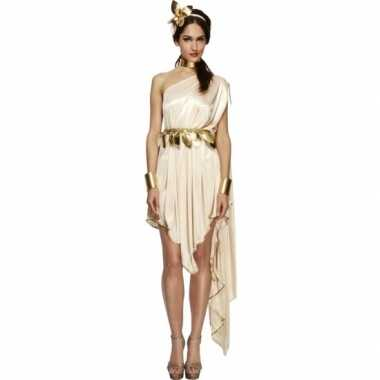 Romeinse godin carnavalskleding jurk voor dames