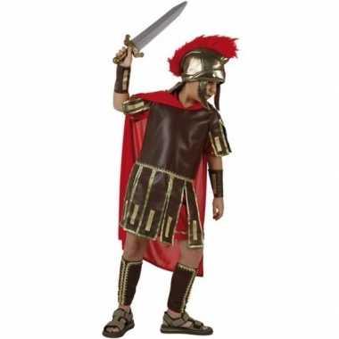 Romeinse soldaat fabius carnavalskleding voor jongens