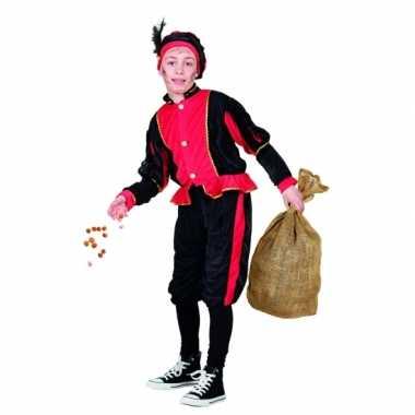 Rood pieten carnavalskleding voor kinderen