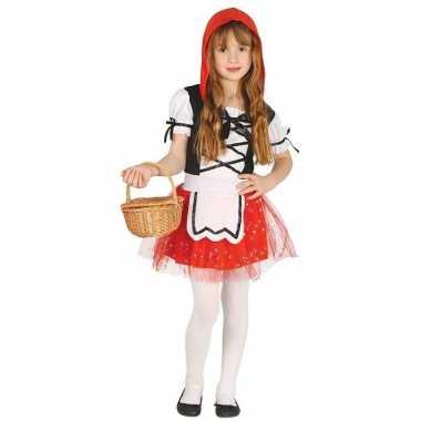 Roodkapje carnavalskleding/jurkje voor meisjes