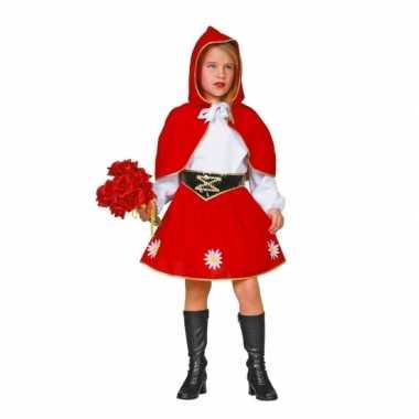Roodkapje carnavalskleding voor kinderen