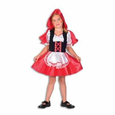 Roodkapje carnavalskleding voor meiden