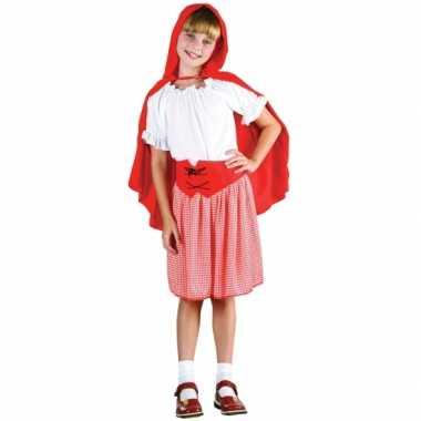 Roodkapje carnavalskleding voor meisjes