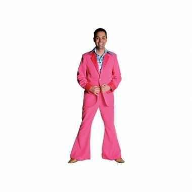 Roze carnavalskleding voor heren