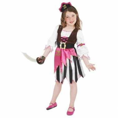 Roze piraten carnavalskleding