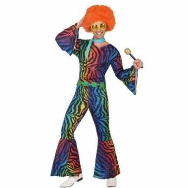 Seventies/disco carnavalskleding voor heren