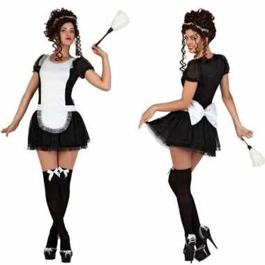 Sexy dienstmeisje carnavalskleding/jurkje voor dames