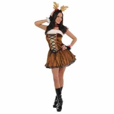 Sexy rendier carnavalskleding voor dames