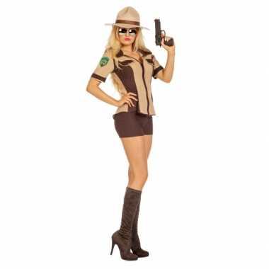 Sexy sheriff carnavalskleding voor dames