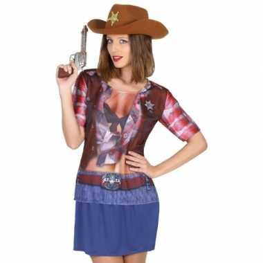 Sheriff carnavalskleding voor dames