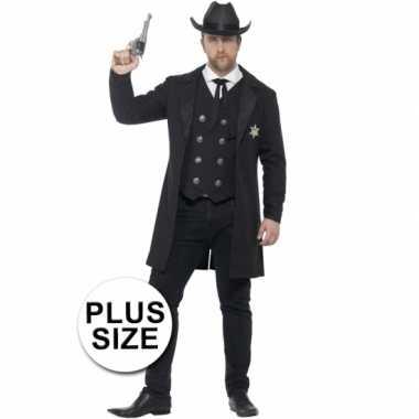 Sheriff carnavalskleding voor heren