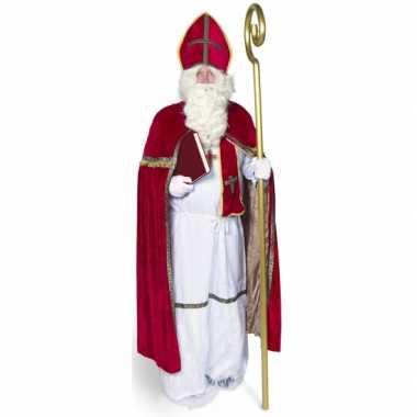 Sinterklaas carnavalskleding voor volwassenen