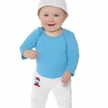Smurfen carnavalskleding voor baby's