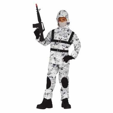 Soldaat special forces carnavalskleding voor jongens