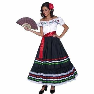 Spaanse danseres carnavalskleding voor dames