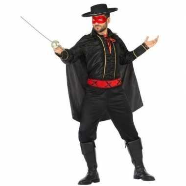 Spaanse gemaskerde held carnavalskleding voor heren