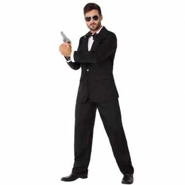 Spion/geheim agent carnavalskleding voor heren