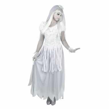Spook bruid carnavalskleding voor dames
