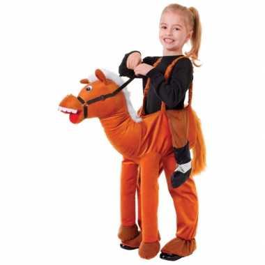 Stap in paard carnavalskleding voor kids