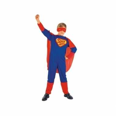 Super jongen kindercarnavalskleding