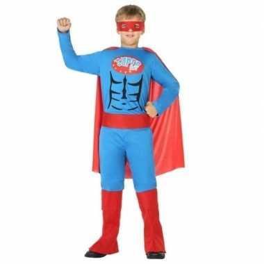 Superheld pak/ carnavalskleding voor jongens
