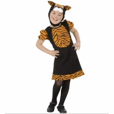 Tijgertje carnavalskleding voor meisjes
