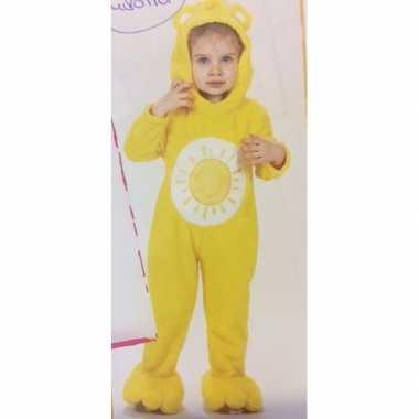 Troetelberen carnavalskleding geel voor meisjes