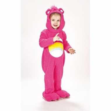 Troetelberen carnavalskleding roze voor meisjes