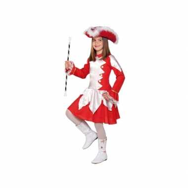 Twirl carnavalskleding rood voor meiden
