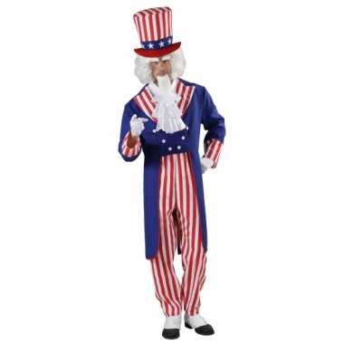 Uncle sam carnavalskleding voor heren