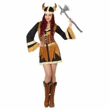 Viking carnavalskleding/jurk voor dames