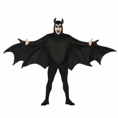 Vleermuis carnavalskleding zwart voor heren