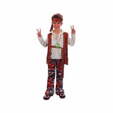 Voordelig hippie carnavalskleding voor jongens