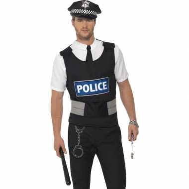 Voordelige politie carnavalskleding