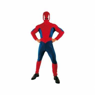 Voordelige spinnenheld carnavalskleding voor volwassenen