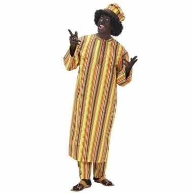 West afrikaans heren carnavalskleding