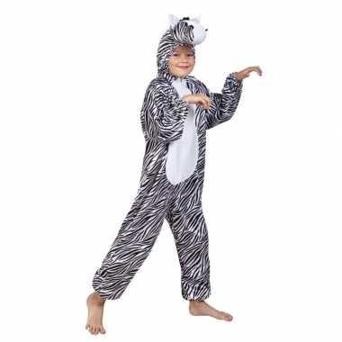 Zebra carnavalskleding voor kinderen