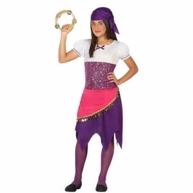 Zigeunerin esmeralda carnavalskleding voor meisjes