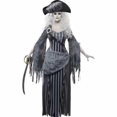 Zombie piraten carnavalskleding voor dames