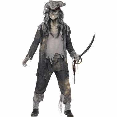 Zombie piraten carnavalskleding voor heren