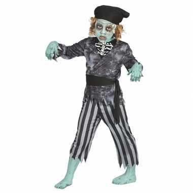 Zombie piraten carnavalskleding voor jongens