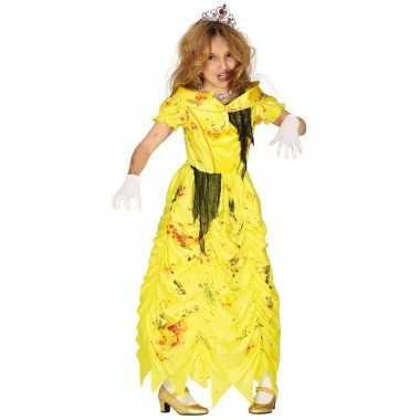 Zombie prinses belle carnavalskleding voor meisjes prinsessenjurk
