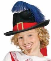 Carnavalskleding musketier accessoire kind