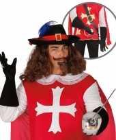 Carnavalskleding musketier accessoire volwassenen 10064667
