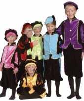 Luxe zwarte pieten carnavalskleding voor kinderen 10036513