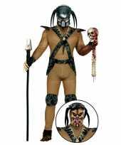 Monster carnavalskleding met accessoires